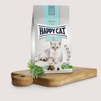 Хепи Кет Сензитив Лайт с ниско количество мазнини-вкусна храна за котки с наднормено тегло и кастрирани-10 кг