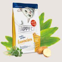 Храна за котки със заешко месо – За чувствителни котки Без зърнени съставки – 4 кг