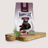 Хепи Кет Кулинари Стерилизирано Алпийско говеждо -вкусна храна за кастрирани котки с говеждо месо-10 кг