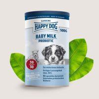 Happy Dog Baby Milk Probiotic – Пробиотично мляко -заместител на майчино мляко -0,5 кг