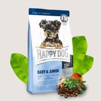 Храна за кучета Happy Dog Mini Baby + Junior-за кучета от дребни породи под 1 година – 1 кг