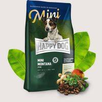Храна за кучета от малки породи  Happy Dog Супер Премиум Мини Монтана – 1 кг