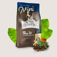 Храна за кучета Happy Dog Mini Canada – За чувствителни млади кучета и за активни възрастни кучета от дребни породи – 1 кг