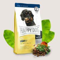 Храна за кучета Happy Dog Mini Light – за дребни кучета с тегло до 10кг – с намалено количество мазнини 6,5% – 1 кг