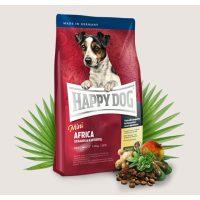 Храна за кучета Happy Dog Мини Африка –  за дребни кучета с тегло до 10кг с най-доброто щраусово месо- 1 кг
