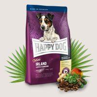 Храна за кучета Happy Dog Мини Ирландия – храненето при алергични кучета към обичайните компоненти на храните – 1 кг