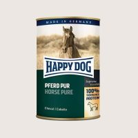 Консерва за кучета Happy Dog със 100% конско месо – 0,2 кг