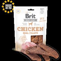 Brit Jerky Snack – Chicken Fillets – лакомство за кучета филенца пилешко -80 гр