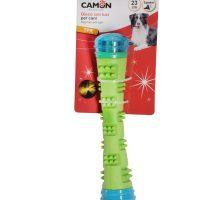 TPR пръчка с и лед светлина играчка за куче 23 cм